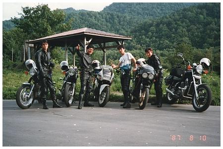 北海道バイクツーリング1