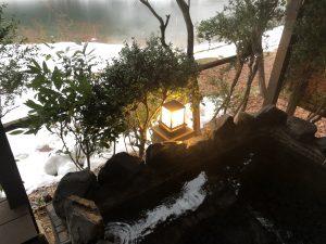 喜久屋四季亭@露天風呂からの景色