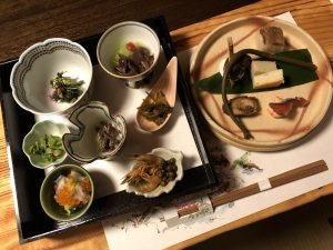 喜久屋の夕食前菜