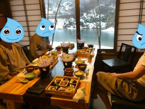 喜久屋@朝飯の風景