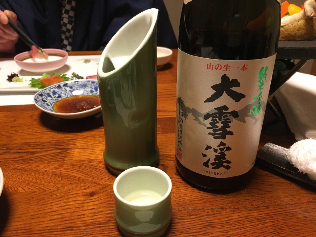 日本酒@大雪渓